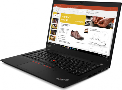 "Ноутбук Lenovo ThinkPad T14s Gen 1 (Intel Core i7 10510U 1800MHz/ 14""/ 1920x1080/ 16GB/ 512GB SSD/ DVD нет/ Intel UHD Graphics/ Wi-Fi/ Bluetooth/ LTE/ Windows 10 Pro)  20T0001CRT фото 2"